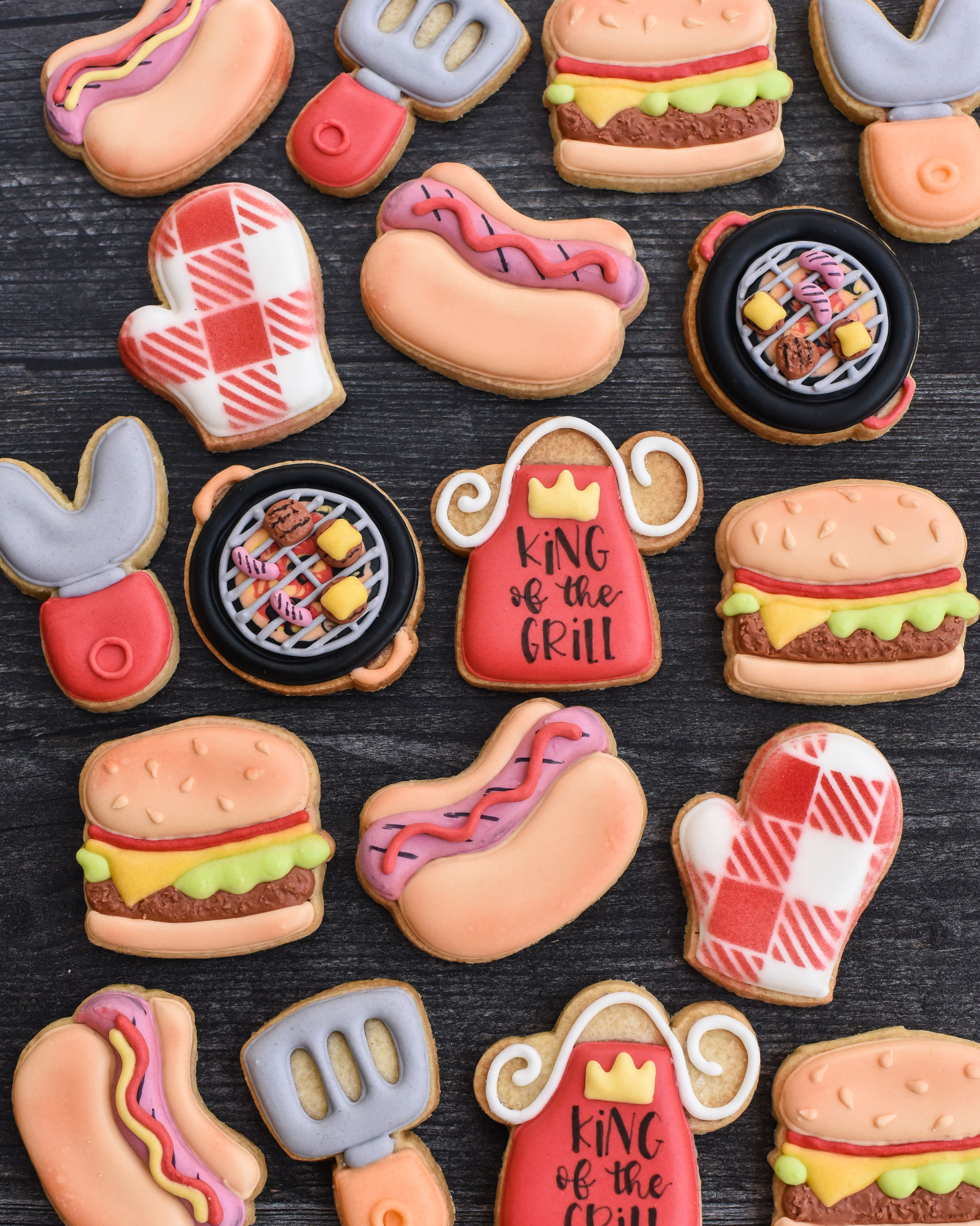 Father's Day cookout grilling Cookies • Southern P