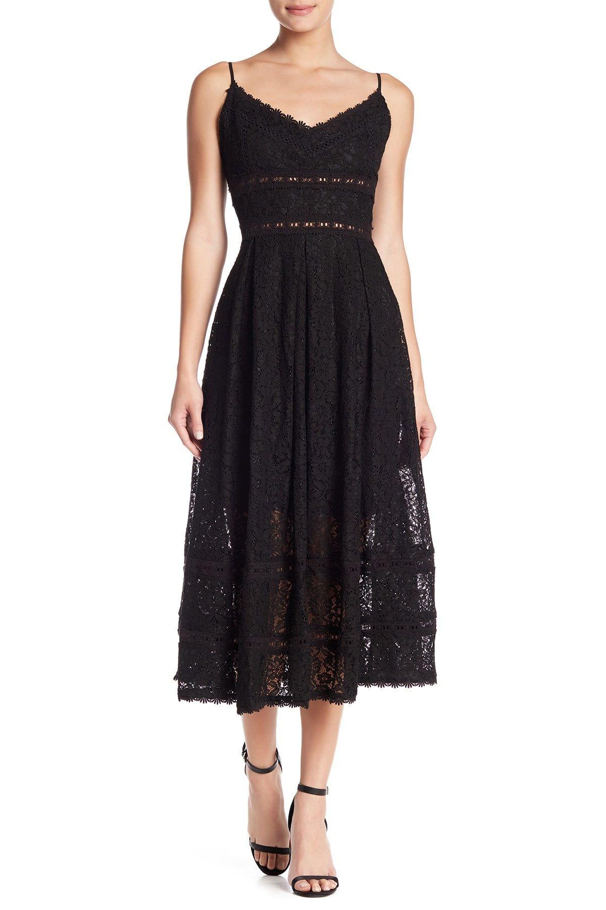 Nsr Sleeveless Lace Midi Dress Nordstrom Rack In 2021 Black Lace Midi Dress Lace Midi Dress Midi Dress [ 1800 x 1200 Pixel ]