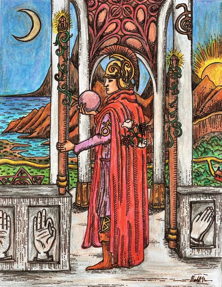 Tarot 2 Wands - Google Search