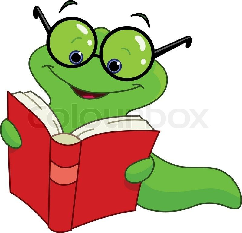 Book Worm Speedreading Animated Clipart - Free Clip Art Images ...