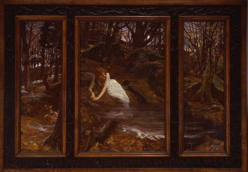 "Elizabeth Adela Stanhope Forbes ""Will-o'-the-Wisp"" ca. 1900"