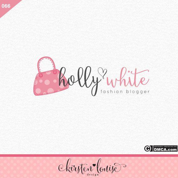 Premade Handbag Logo Fashion Bag By Kirstenlouisedesign Loesign Handbaglogo