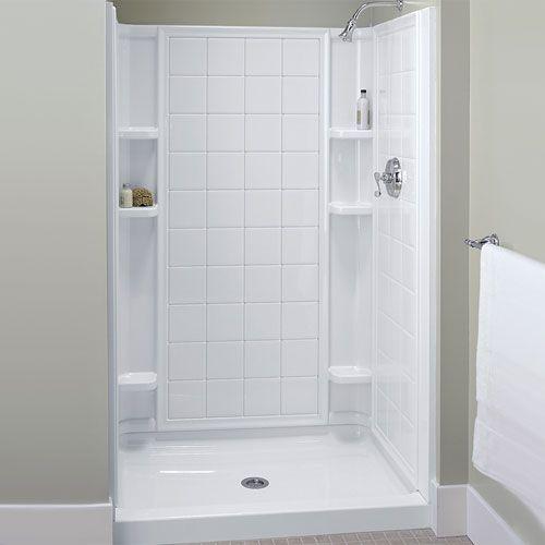 Sterling S721201000 Ensemble Tile Standard Enclosure Shower