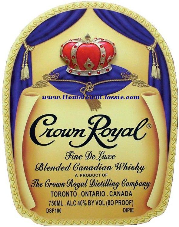 Crown Royal Label