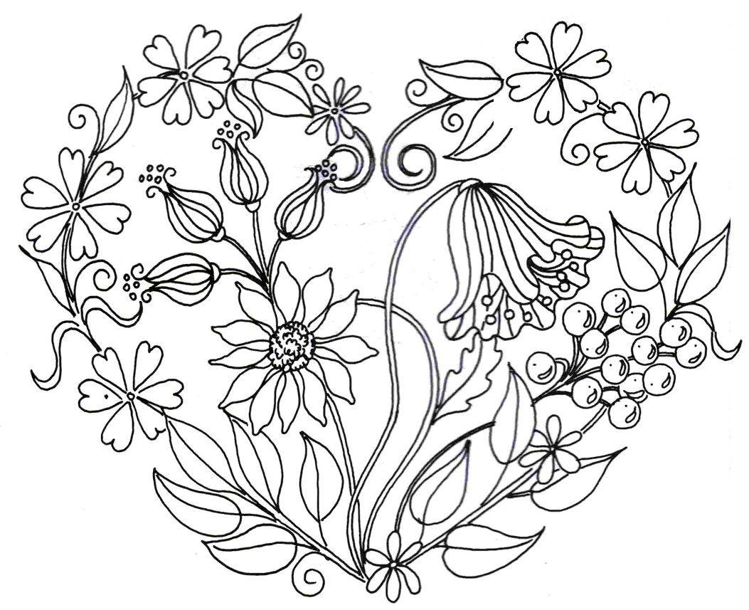 flores201.jpg (1053857) | Bordado | Pinterest | Bordado, Molde y ...