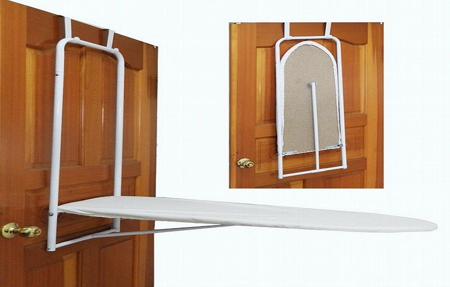 Over The Door Mounted Ironing Board Http Lanewstalk Com Simple And Functional Wall Wall Mounted Ironing Board Door Mounted Ironing Board Wall Ironing Board
