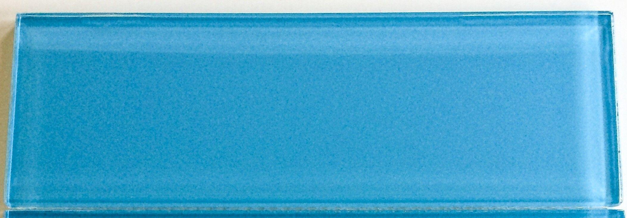 Sample Lush Sky - 4x12 Glass Subway Tile | Subway tiles, Tiled ...