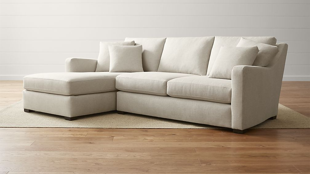 Verano 2 Piece Left Arm Chaise Sectional Sofa