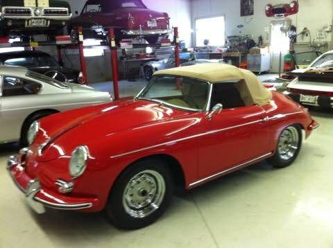 1960 Porsche 356 TB 5 Roadster