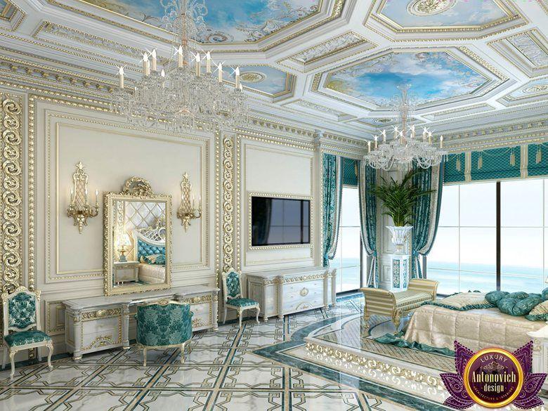 Palatial bedroom design of Katrina Antonovich , Katrina Antonovich