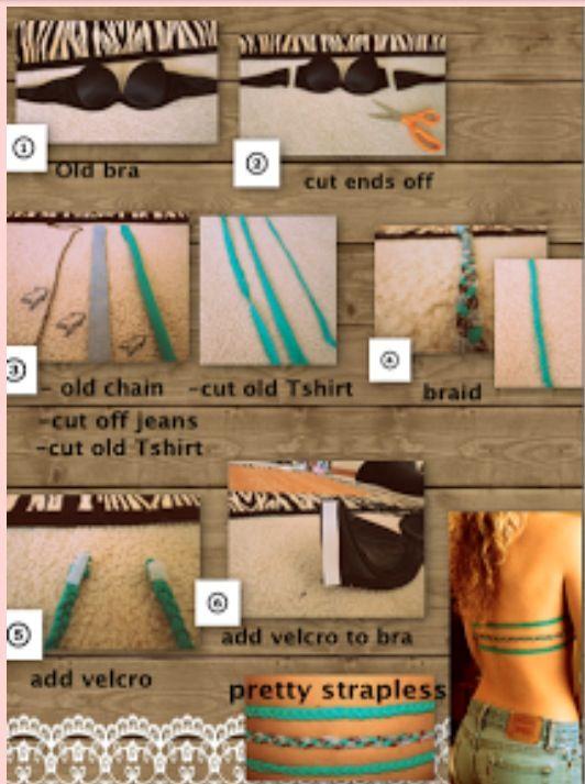 5b555017ba DIY strapless bra