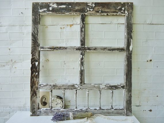 Antique 4 Pane Wooden Window Door Salvage Perfect For Mantle Decor Or A Wedding Backdrop Mantle Decor Wooden Windows Windows And Doors