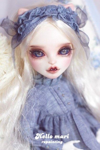 Ooak monsterhigh dollrepaint hellomarirepaint http - Bbs dollhouse ...