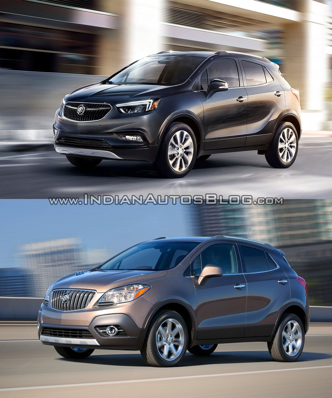 Used Buick Encore: 2017 Buick Encore Vs 2013 Buick Encore - Old Vs New
