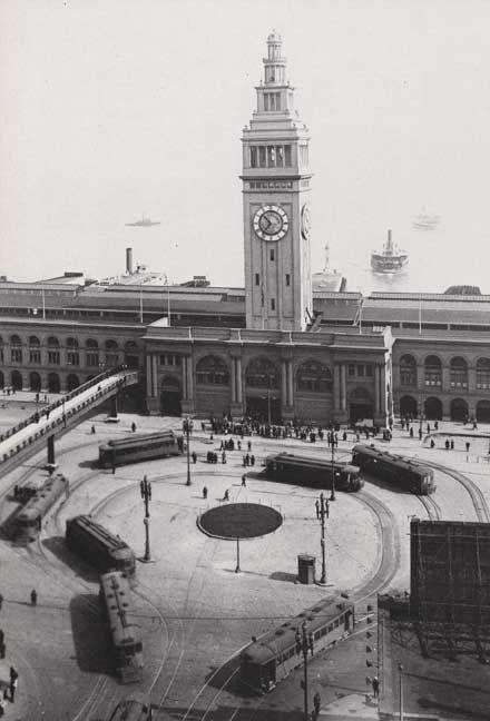 San Francisco Ferry Building Circa 1900s