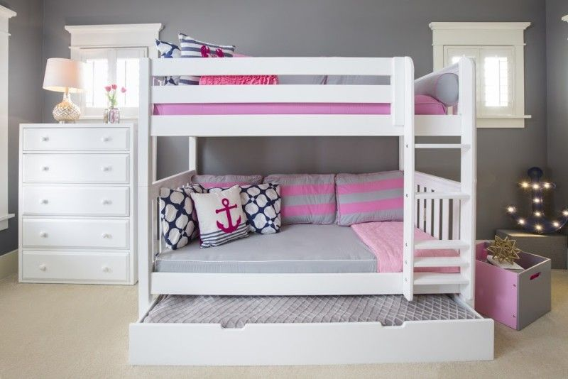 The Perfect Twin Over Twin White Bunk Beds Get It Beautiful