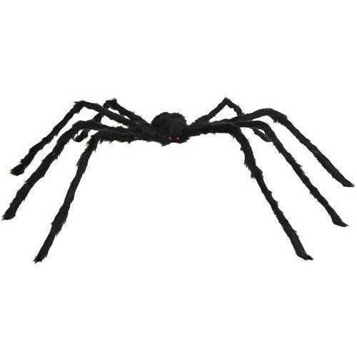 Halloween Indoor Decorations Large Black Spider Giant 50 Inch Scary Outdoor Halloween Spider Decorations Spider Decorations Halloween Spider