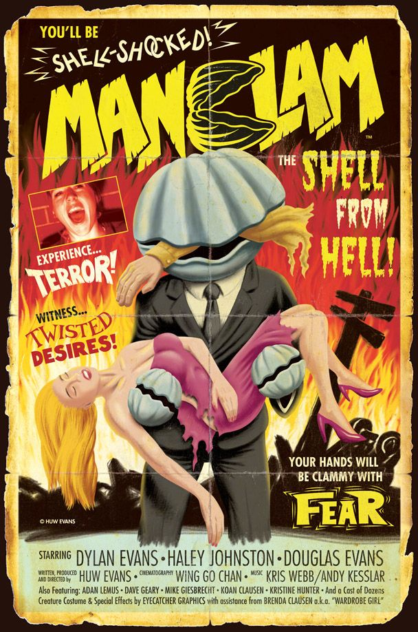 Manclam B-Movie Poster By Huwman.Deviantart.Com On @Deviantart