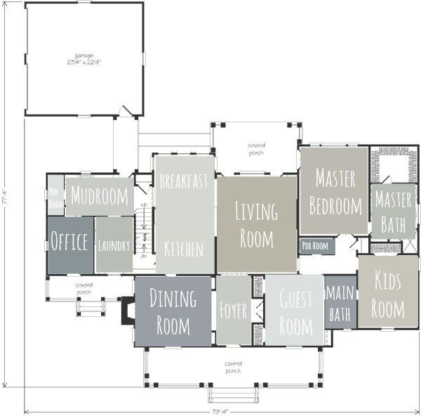 it s easy to create a floor plan layout of paint colors for your