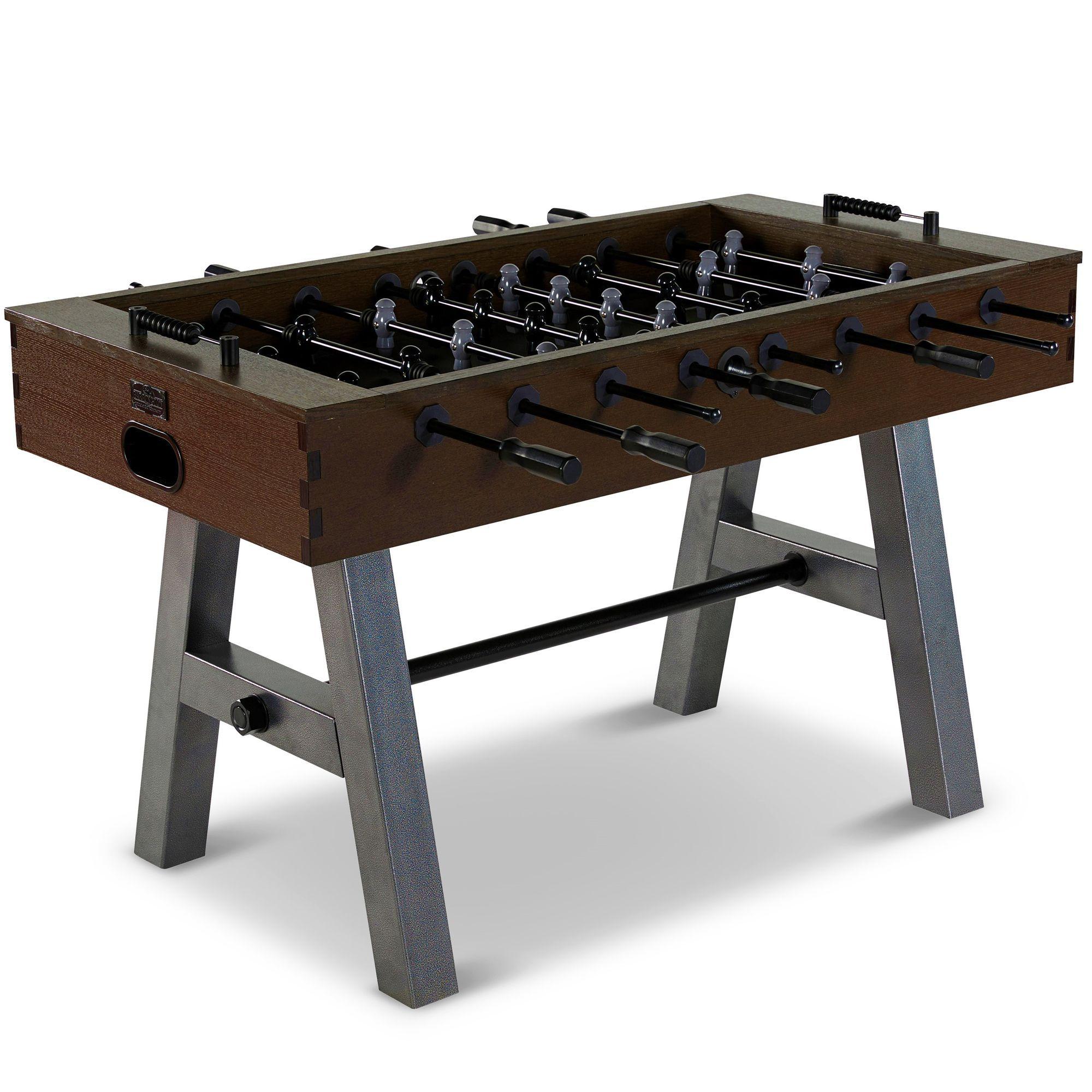 "Barrington 56"" Evanston Foosball Soccer Table, Steel Leg"
