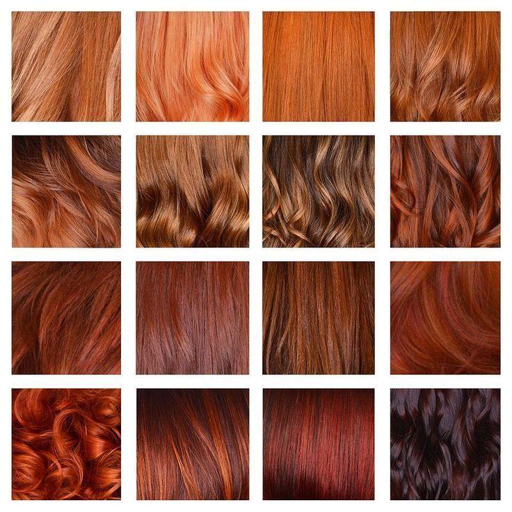 Kunde: Ich möchte rote Haare! Colorist: Unglaublich! Also denkst du wie ein tie… – Haarpflege Frisuren