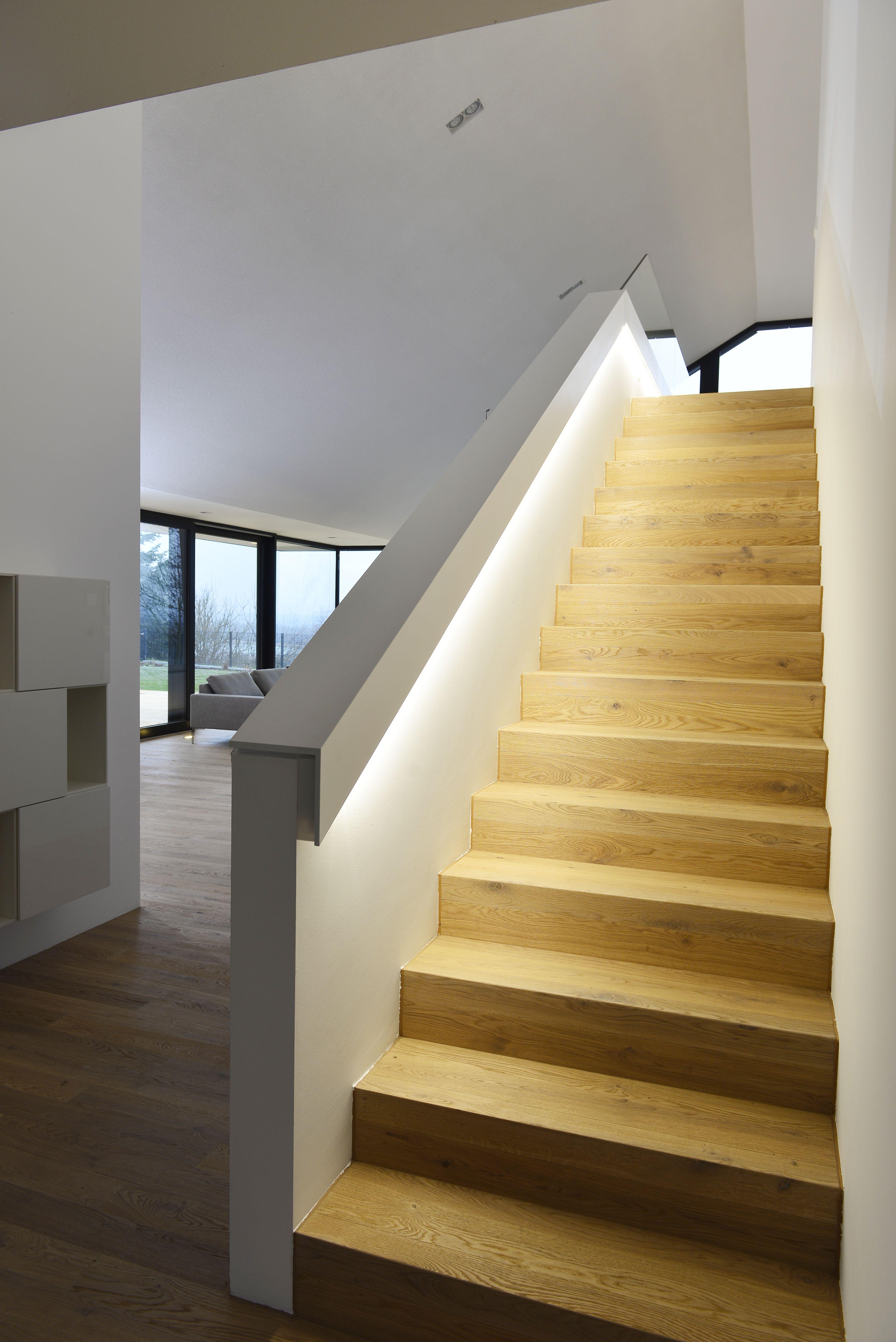 Austria Treppe Haus Moderner Eingang Haus Innenraume