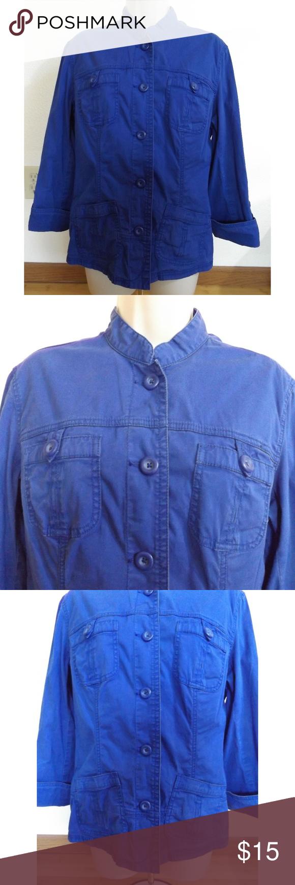 Chico S Size 1 Denim Jacket Chico S Size 1 Royal Blue Denim Jacket Color Look Brighter In Picture Than In Person Denim Jacket Clothes Design Blue Denim Jacket [ 1740 x 580 Pixel ]