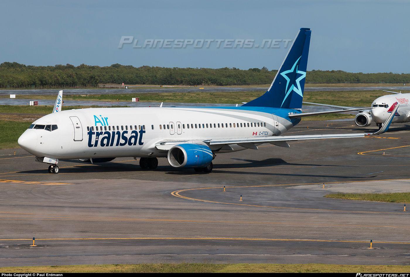 CFTCX Air Transat Boeing 7378AS(WL) Air transat
