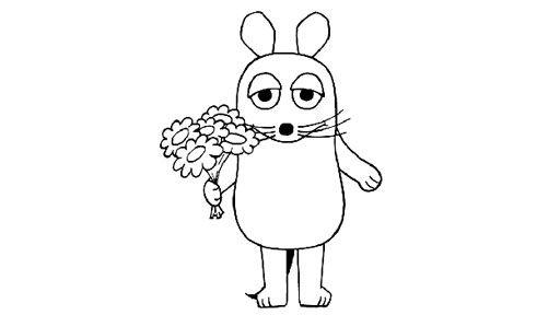 Maus mit Blumen 732 Malvorlage Alle Ausmalbilder Kostenlos, Maus mit ...