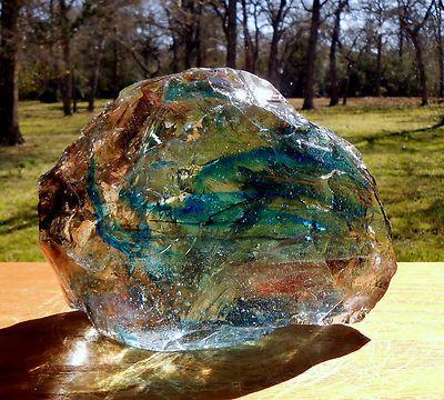 Daily Limit Exceeded Glass Rocks, Slag Glass Chunks
