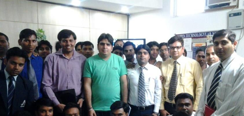 PGDM IT students visited Appin Technology, Noida on 16 March 2013