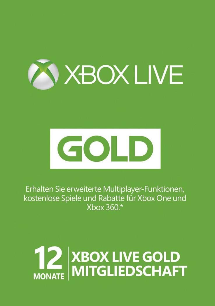 Xbox Live Gold 12 Monate With Images Xbox Live