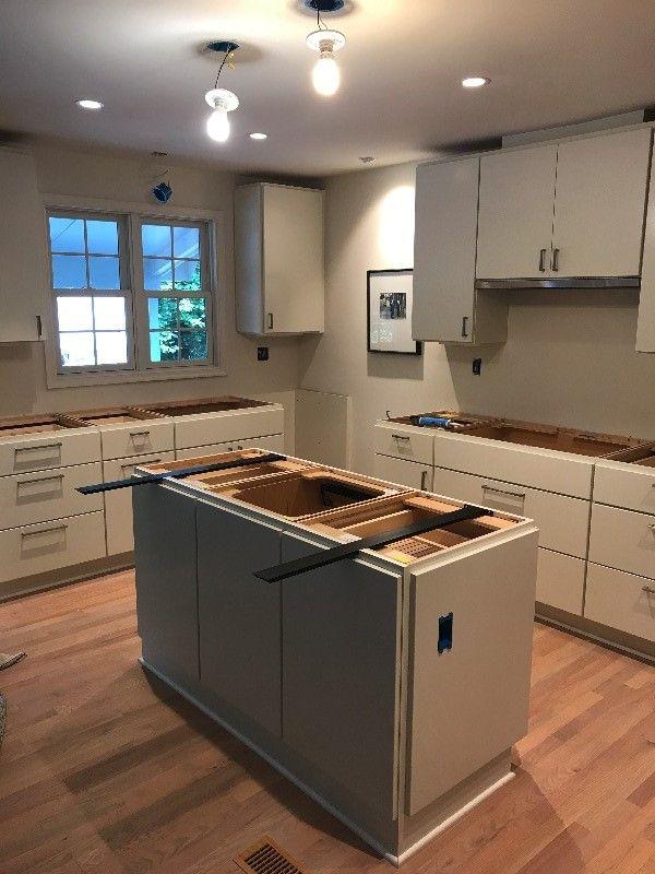 Kitchen Sink In Island Modern