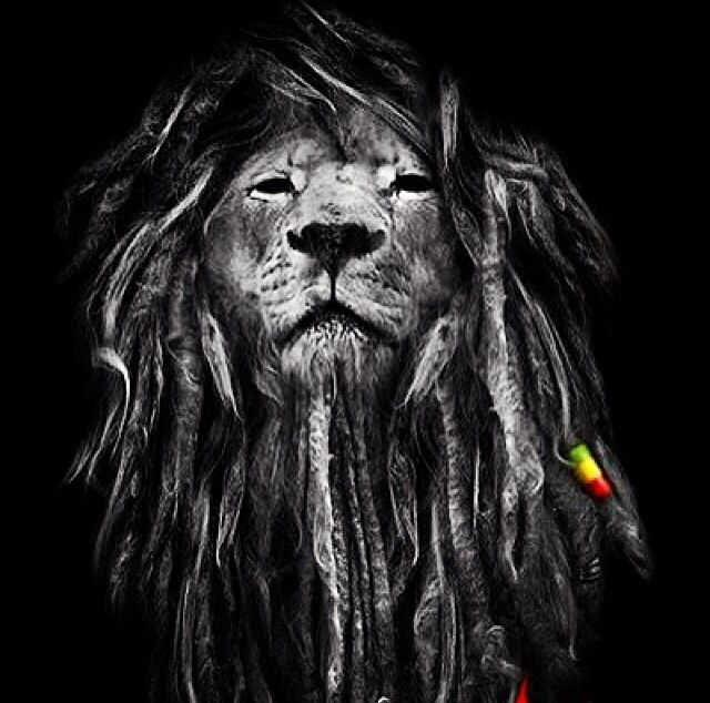 Rasta lion africa dessin lion impressionnisme et peinture graffiti - Dessin de rasta ...