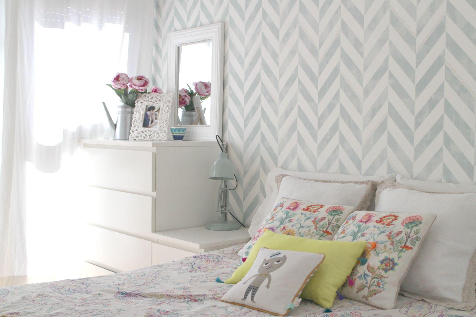 c mo decorar una habitaci n de matrimonio con papel