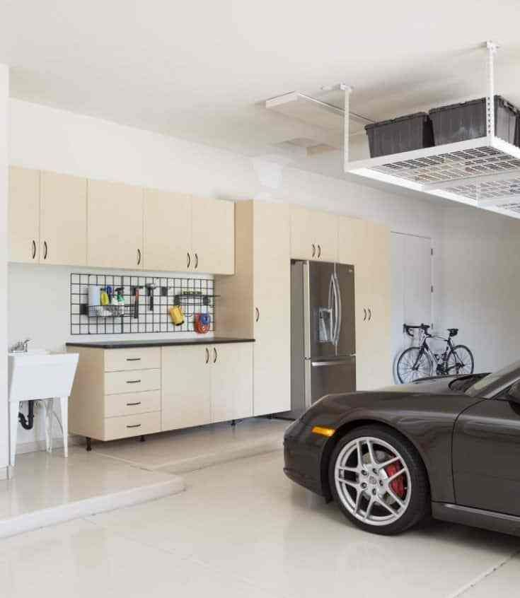 Easy Garage Cabinets Plans: Simple Garage Organization Cabinet Ideas For The Best