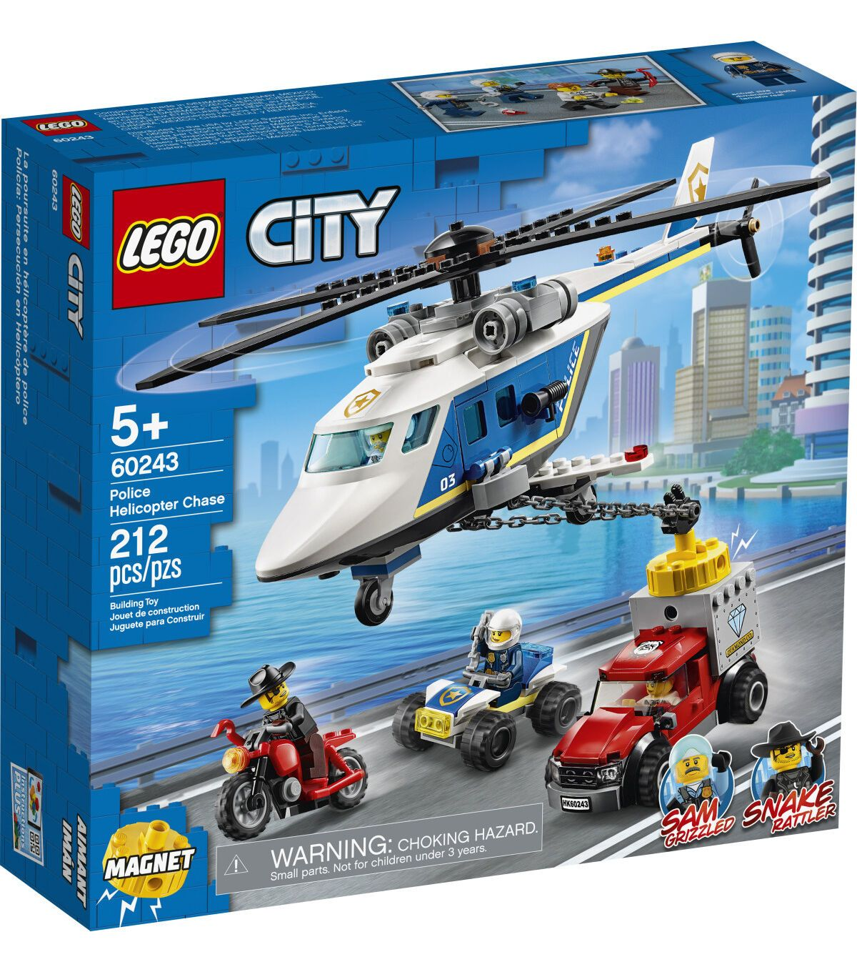 Lego City Police Helicopter Chase 60243 Joann In 2020 Lego City Lego City Police Lego City Sets