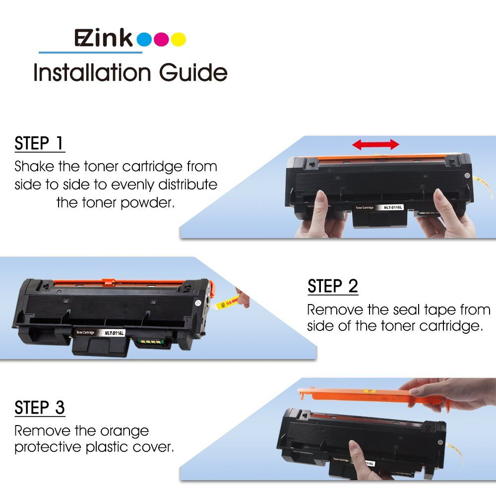 Ez Ink Tm Compatible Toner Cartridge 3 0k Replacement For Samsung 116l Mltd116l D116l High Yield 1 Black For Use Toner Cartridge Cartridges Best Laser Printer