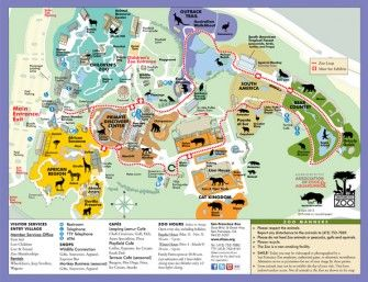A Trip To The San Francisco Zoo Glittering Muffins Blog By Kids Yoga Stories San Francisco Zoo Zoo Map Zoo