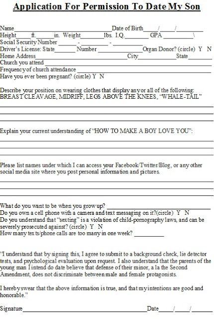 Dating site application