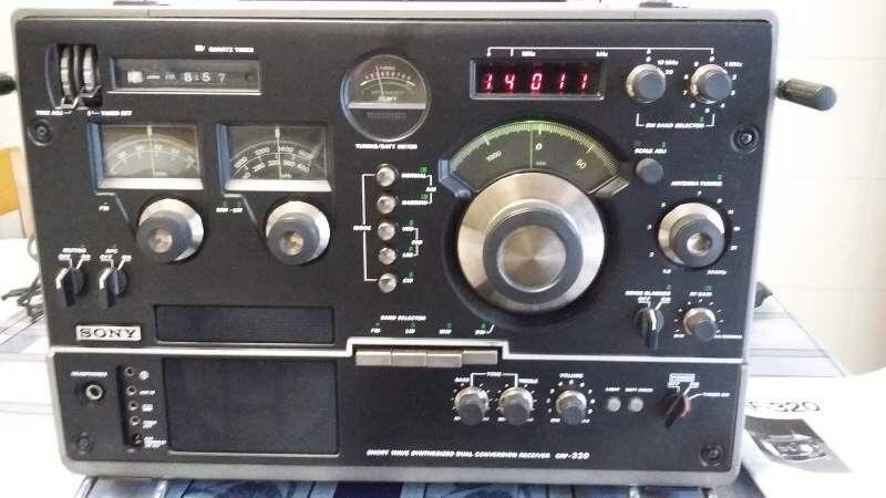 Sony CRF-320 Shortwave Radio Receiver in Consumer