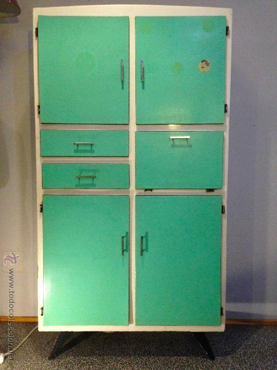 Armario de cocina vintage, 290 € | Alacenas Vintage | Locker ...
