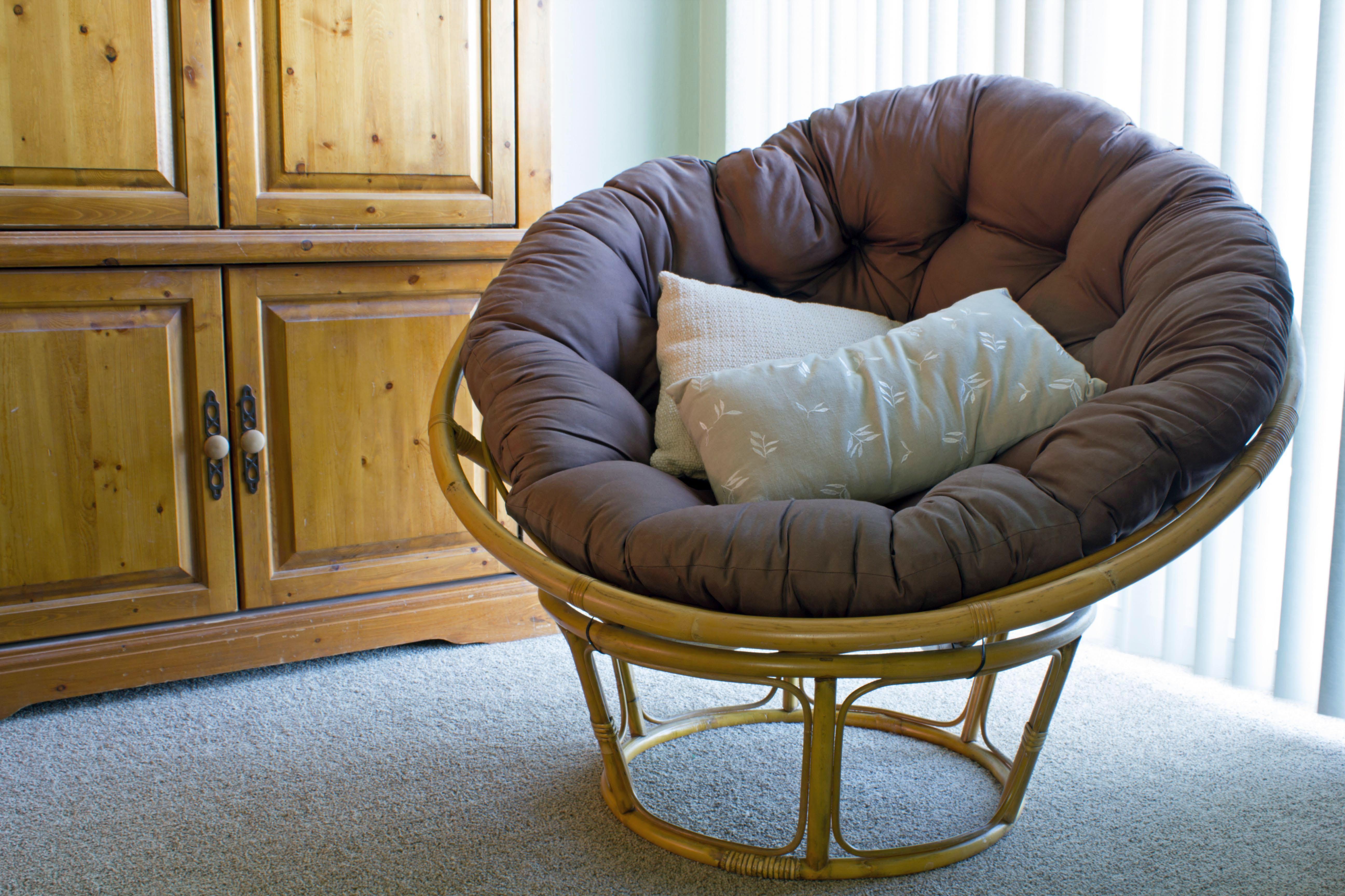 how to make a papasan chair