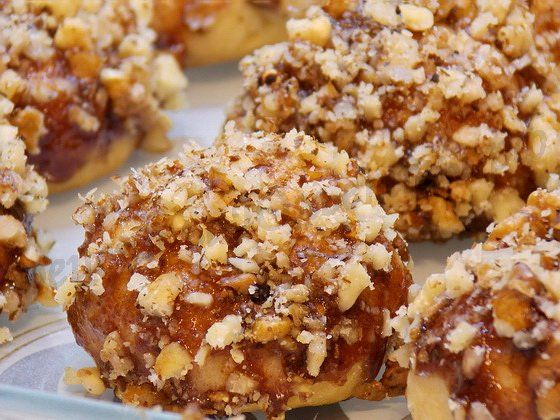выпечка с орехами рецепты с фото