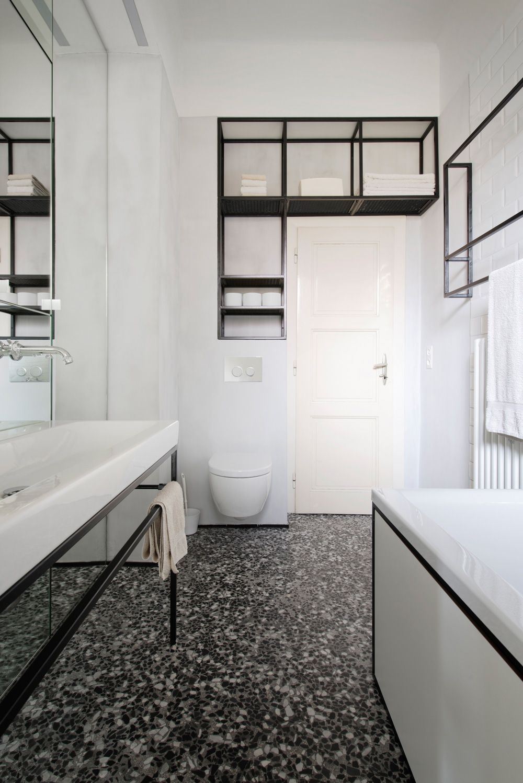 Why We Love Terrazzo Contemporary Apartment Bathroom