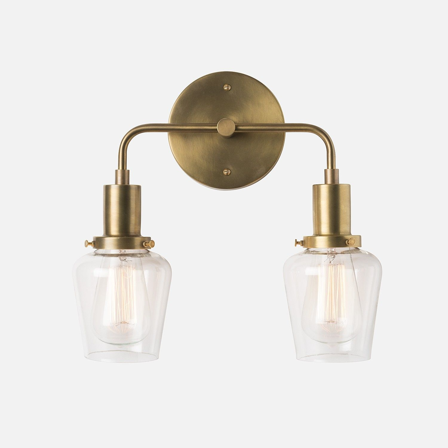 Abrams Double Sconce 2 25""
