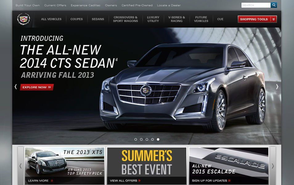 30 Beautiful Website Designs Inspired By Cars Beautiful Website Design Website Design Car