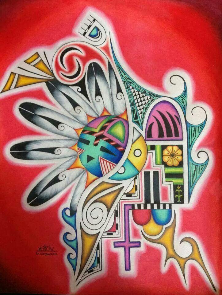 Hopi Art   HOPI   Pinterest   Native art, Native american ...  Hopi Drawings