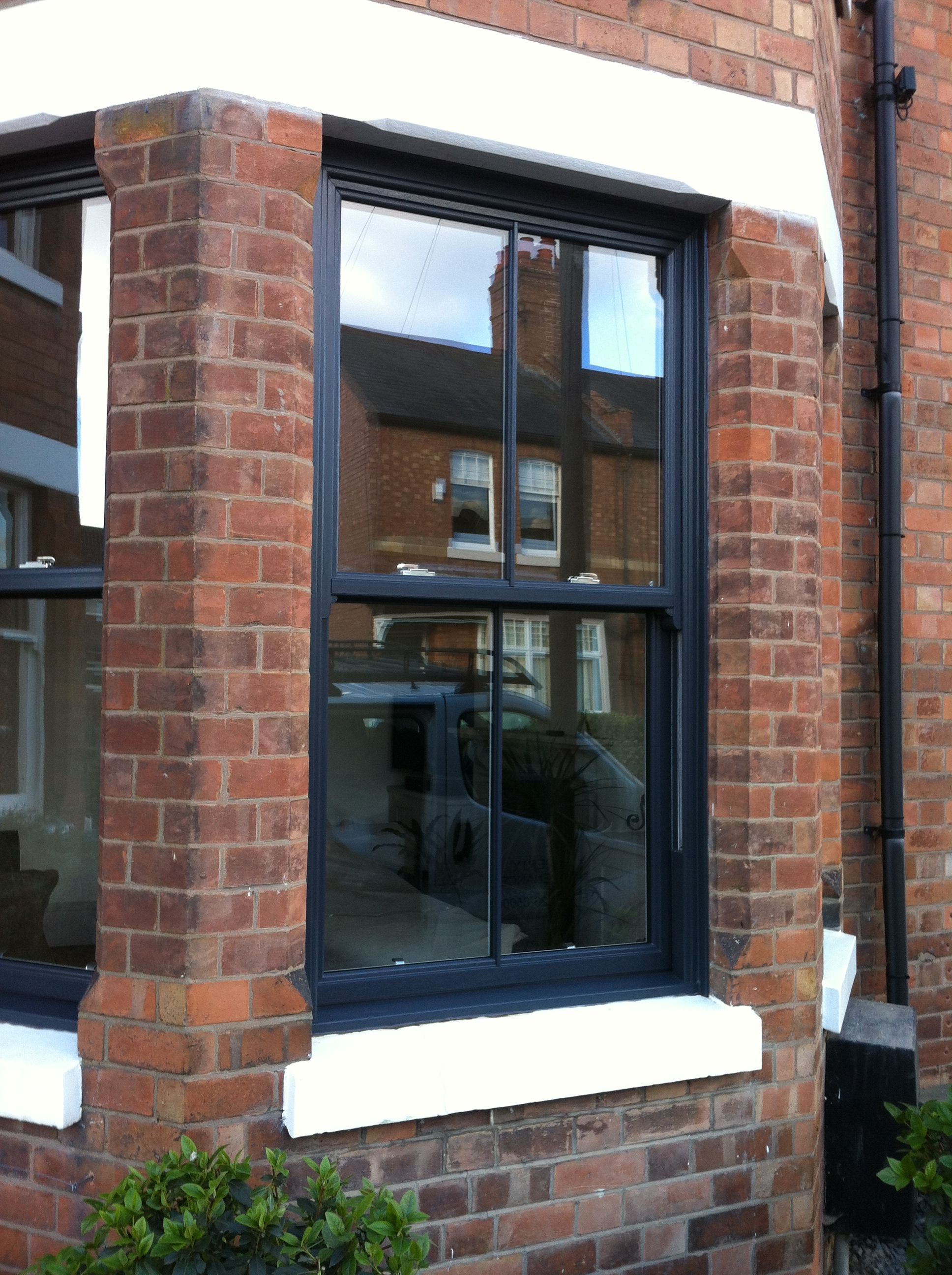 Upvc Sash Grey Window Fantastic Quality And Stylish