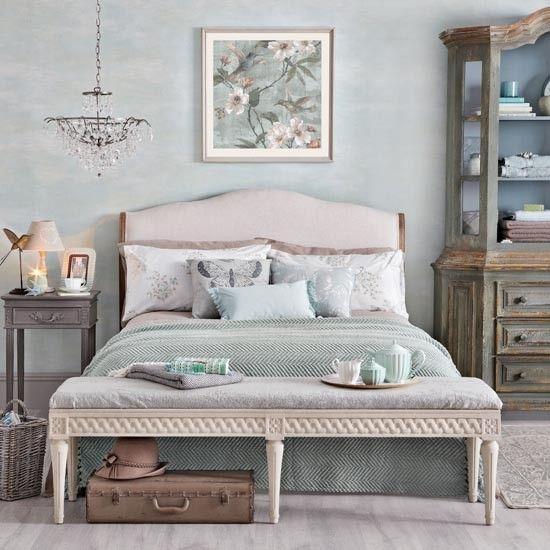 Elegant Bedroom Pics: Elegant Pale Jade Bedroom